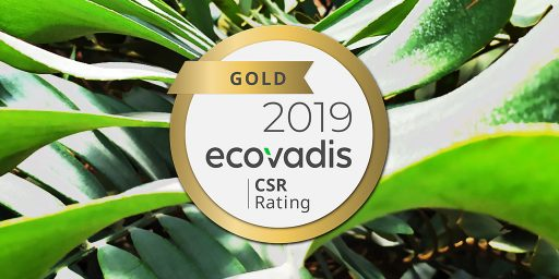 ITS Group obtient à nouveau le niveau Gold au classement Ecovadis