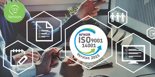 Renewal of ISO 9001 and 140001 certifications for ITS Services