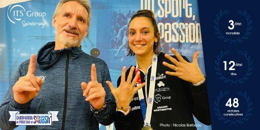 [Sponsoring] Camille Serme, remporte son 12ème titre de championne de France !