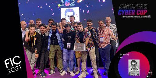 BlueTrusty intègre dans ses équipes l'un des gagnants de l'European CyberCup lors du FIC 2021